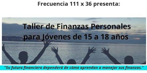 Taller de Finanzas Personales para Jóvenes de 15 a 18 años