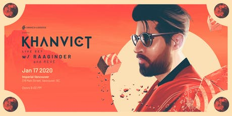 Khanvict (Live Set) w Raaginder tickets