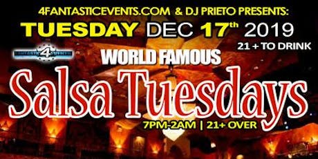 World Famous Salsa Tuesday – Chicago's #1 Salsa Event tickets