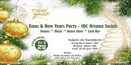 Xmas and New Years Party by COC Ottawa Socials tickets