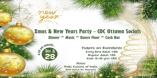 Xmas and New Years Party by COC Ottawa Socials