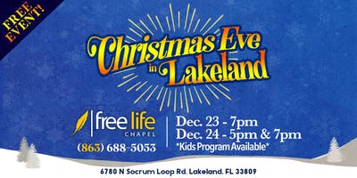 Christmas Eve in Lakeland