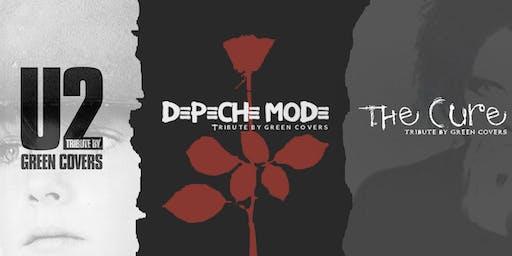 U2, Depeche Mode & The Cure by Green Covers en Granada