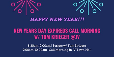 New Years Day Expireds Call Morning w/ Tom Krieger tickets