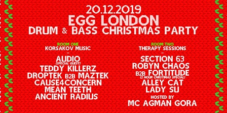 DnB Xmas - Korsakov Music & Therapy Sessions tickets