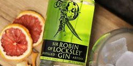 Gin Supper Club with Sir Robin of Locksley Gin tickets