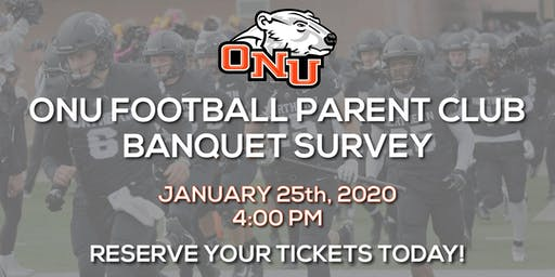 2020 ONU Football Parent Club Banquet