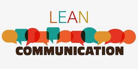 BRILLIANT WORKFORCE SERIES™  Lean Communication Workshop (Pilot Workshop) tickets