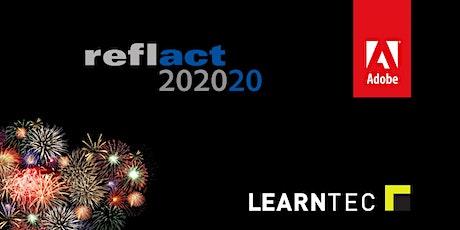 reflact AG & Adobe auf der LEARNTEC 2020 Tickets