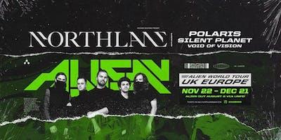 Northlane Alien World Tour EU/UK