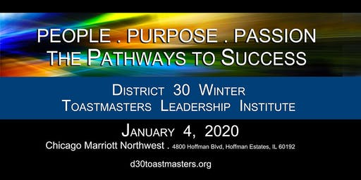 "D30 Winter TLI 2020 ""People, Passion, Purpose"" 