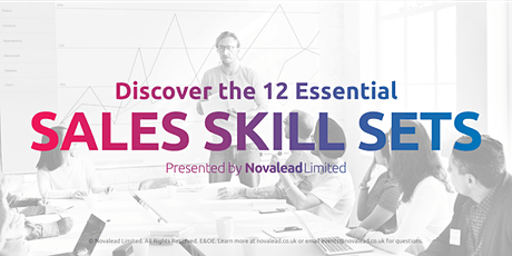 Discover the 12 Essential Skills for Successful Selling in the 21st Century tickets