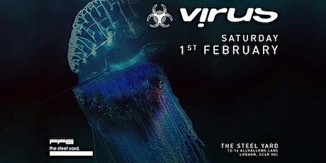 Virus Recordings tickets