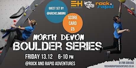 North Devon Boulder Series tickets
