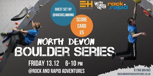 North Devon Boulder Series
