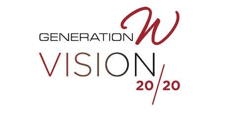 Generation W Vision 2020  tickets