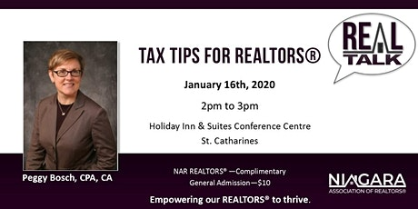 NAR REAL Talk - Income Tax for REALTORS® tickets