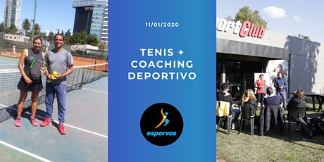 Charla abierta de Tenis + Coaching Deportivo entradas