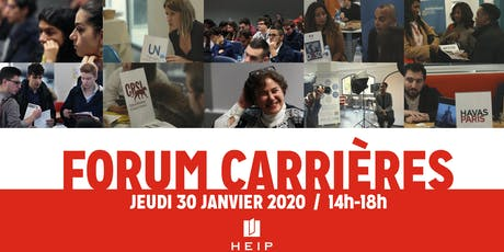 Forum carrières HEIP #2 tickets