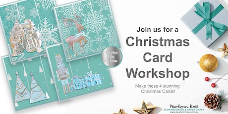 Christmas Card Workshop tickets