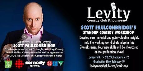 Scott Faulconbridge's Stand-up Comedy Workshop Series tickets