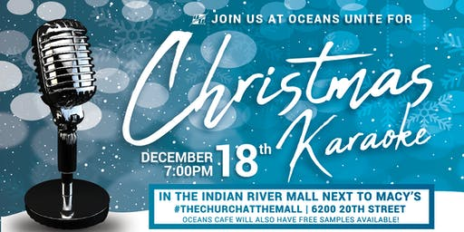 Oceans Unite Christmas Karaoke Night