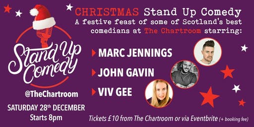 Christmas  Stand-Up Comedy at The Chartroom