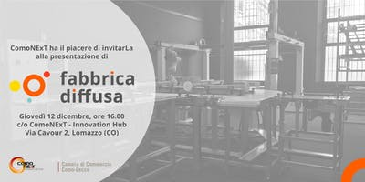 FABBRICA DIFFUSA. Presentazione del dimostratore Industria 4.0 in ComoNExT.