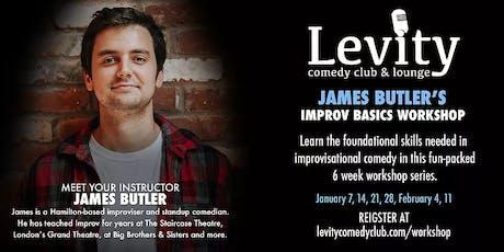 James Butler's Improv Basics Workshop Series tickets