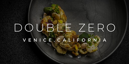 NYE DINNER + COMPLIMENTARY CHAMPAGNE AT DOUBLE ZERO