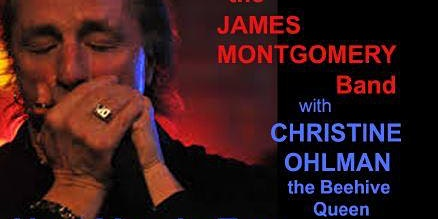 New Year's Eve with the James Montgomery Band and Christine Ohlman