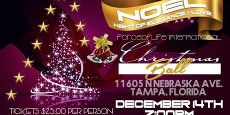 2019  Christmas Ball: (NOEL) NIGHT OF ELEGANCE & LOVE tickets