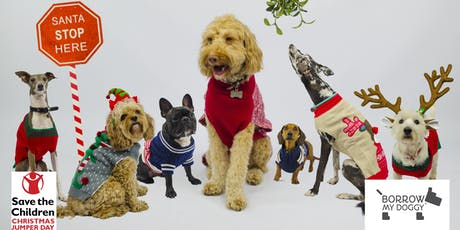 Doggy Christmas Jumper Day with BorrowMyDoggy & Save the Children tickets