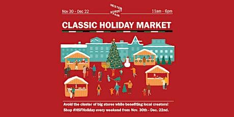 Hester Street Fair Classic Holiday Market tickets