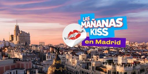 """Grabación """"Las Mañanas KISS"""" (Madrid)"""