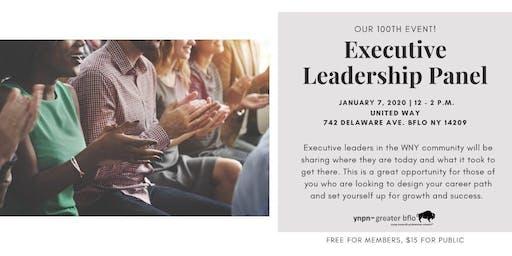 YNPN Greater Bflo Executive Leadership Panel