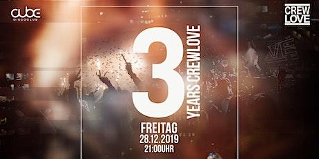 3 Years CrewLove Birthday | Augsburg Tickets