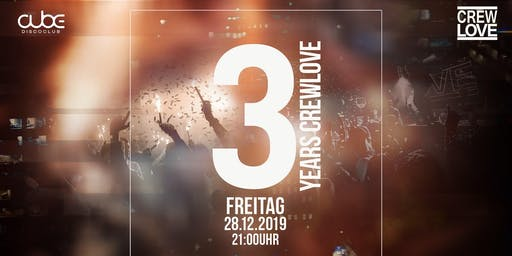 3 Years CrewLove Birthday | Augsburg