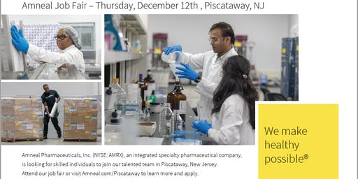 Amneal Pharmaceuticals Job Fair
