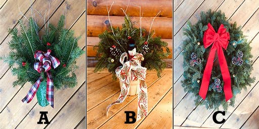 Allaire Christmas Decor Fundraising Event - Wreaths & More!
