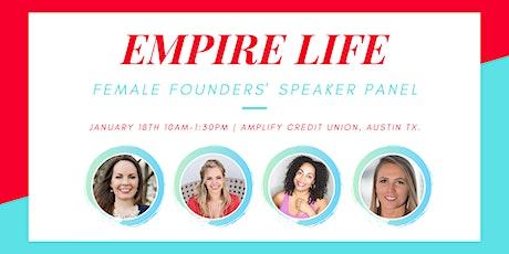 Empire Life Female Founders' Speaker Panel tickets