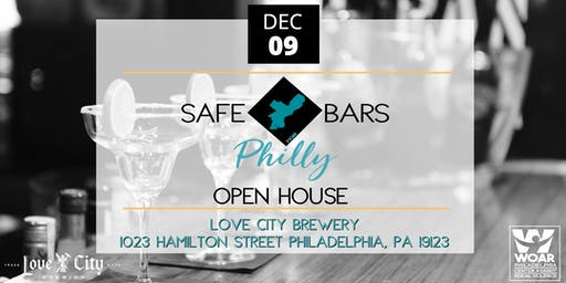 SAFE Bars Philly Open House at Love City Brewing