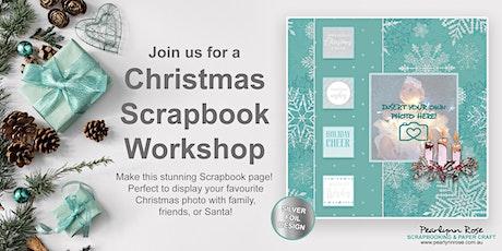 Christmas Scrapbook Workshop tickets