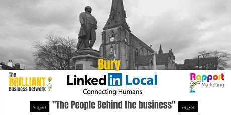 LinkedInLocal - Bury tickets