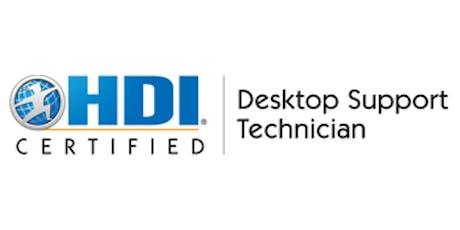 HDI Desktop Support Technician 2 Days Training in Perth tickets