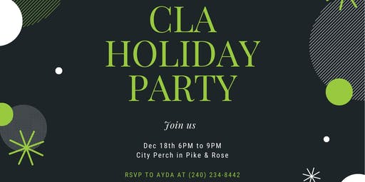 CLA Title Holiday Party!