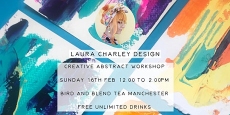 Laura Charley Design Creative Abstract Mark Making Workshop tickets