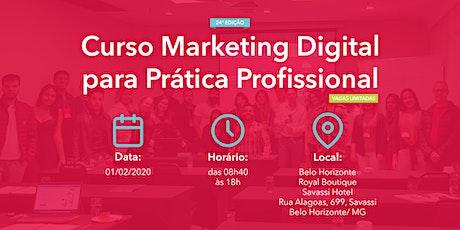 Curso Marketing Digital para Prática Profissional - 01/02/2020 - BH bilhetes