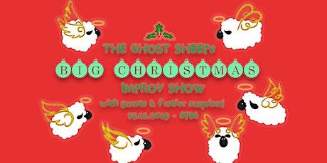 The Ghost Sheep's Big Christmas Improv Show billets