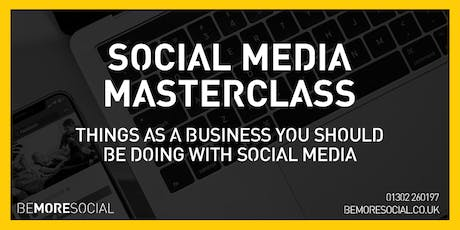 Be More Social - Social Media Masterclass - GRIMSBY tickets